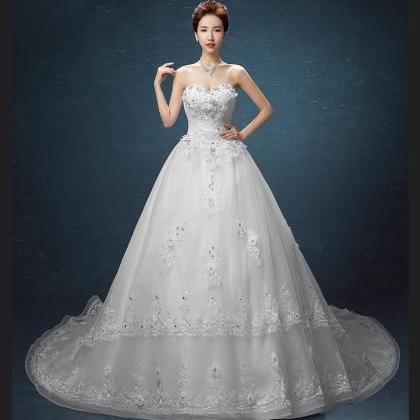 New arrival Bridal dress lace appli..