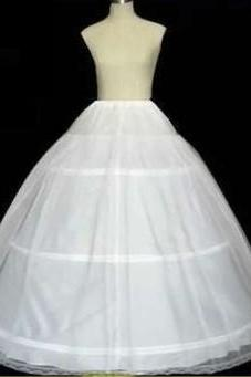 cheap high quality tulle three ring petticoat big bow wedding accessories